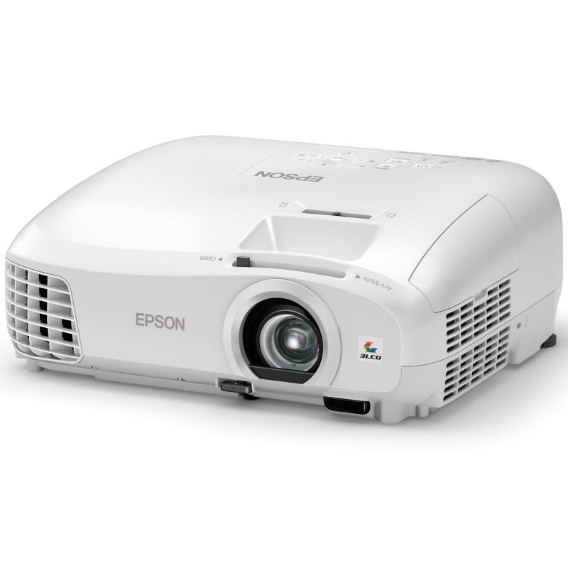 Projektor EPSON EH-TW5300 Projektor, LCD, Full HD 2200 ANSI, 35 000:1, 3D, VGA, HDMI V11H707040