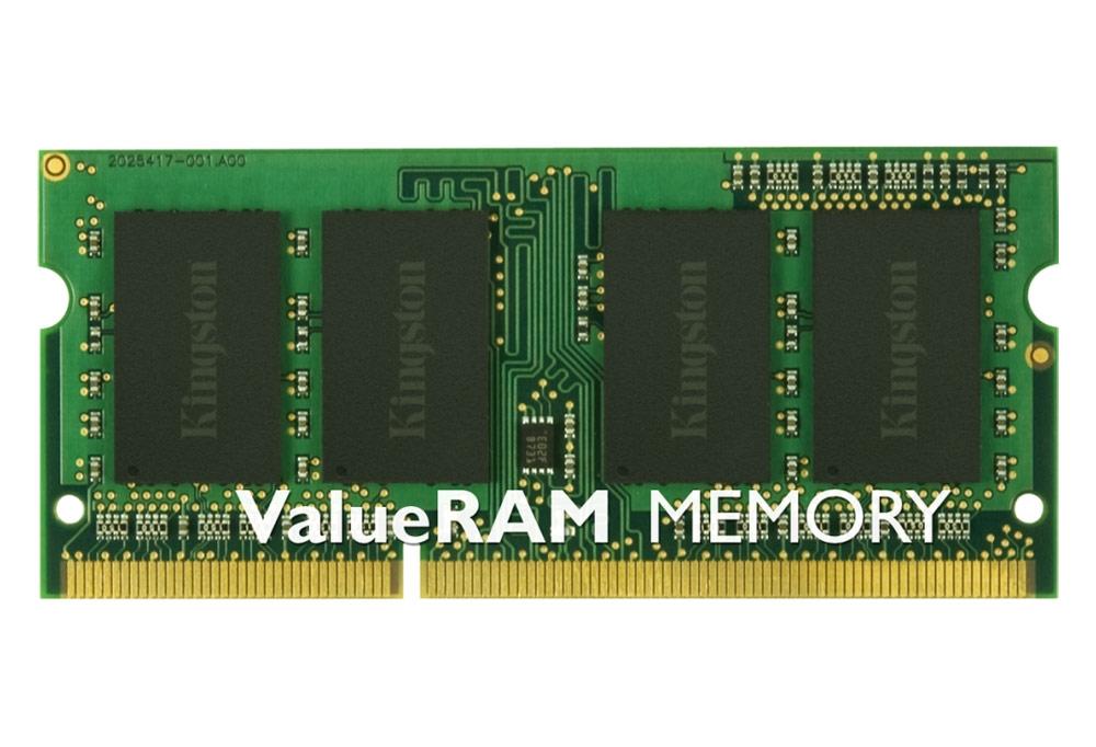 Operační paměť KINGSTON 4GB DDR3 1333MHz Operační paměť, 4GB, 1333MHz, DDR3, Non-ECC, CL9, SODIMM, SR X8 KVR13S9S8/4