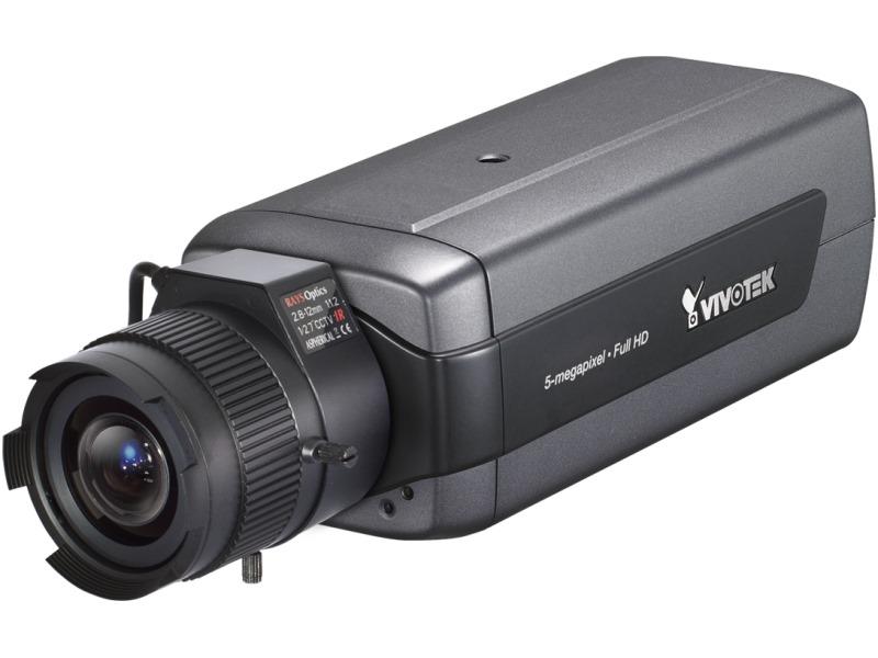 IP kamera VIVOTEK IP8172 IP kamera, MPEG-4, MJPEG, H.264, CMOS, max.2560x1920 5 Mpix, až 25 sn/s, obj. 2,8 - 12 mm F1.2 - ROZBALENÉ NETKV096V