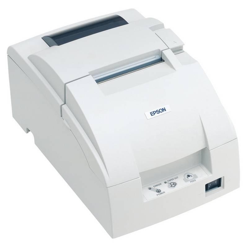 Pokladní tiskárna EPSON TM-U220PD-052 Pokladní tiskárna, paralelní, včetně zdroje, bílá C31C518002