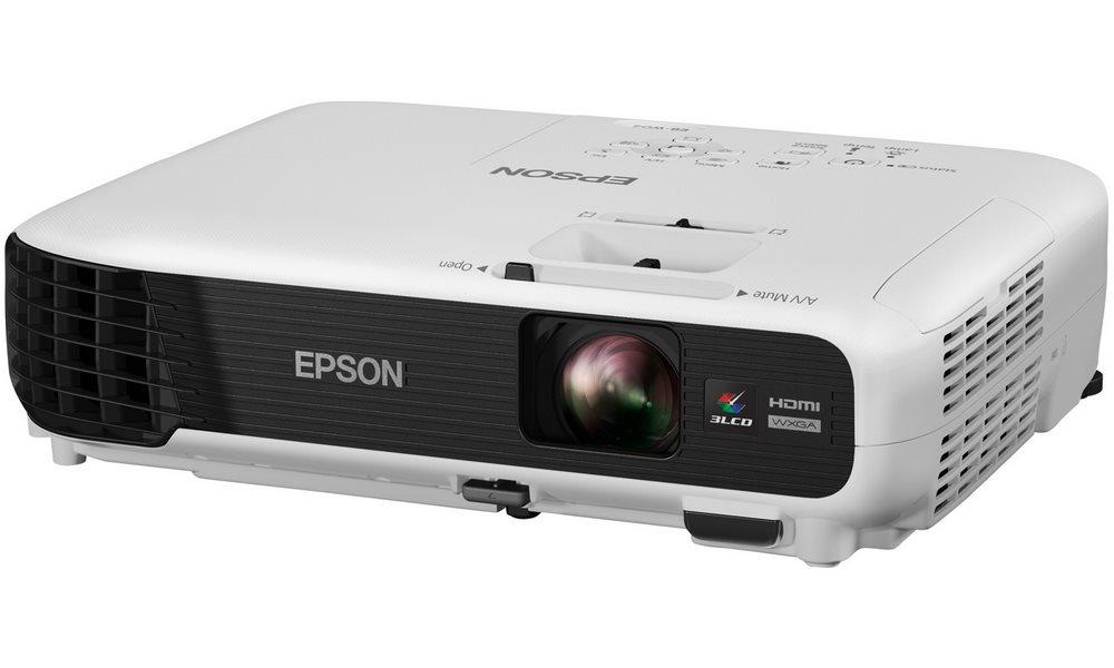 Projektor EPSON EB-W04 Projektor, WXGA, Business Projektor, 3LCD, 3000 ANSI, 15 000:1, HDMI, USB 3-in-1 V11H718040