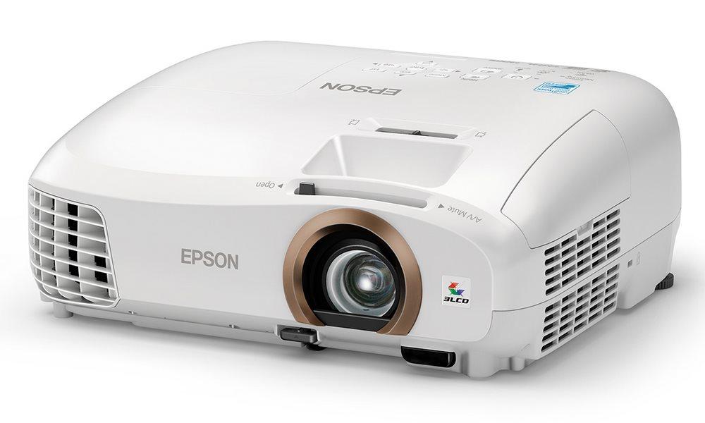 Projektor EPSON Home Cinema EH-TW5350 Projektor, Full HD LCD, 2200 ANSI, 35 000:1, 3D, VGA, HDMI, WiFi V11H709040