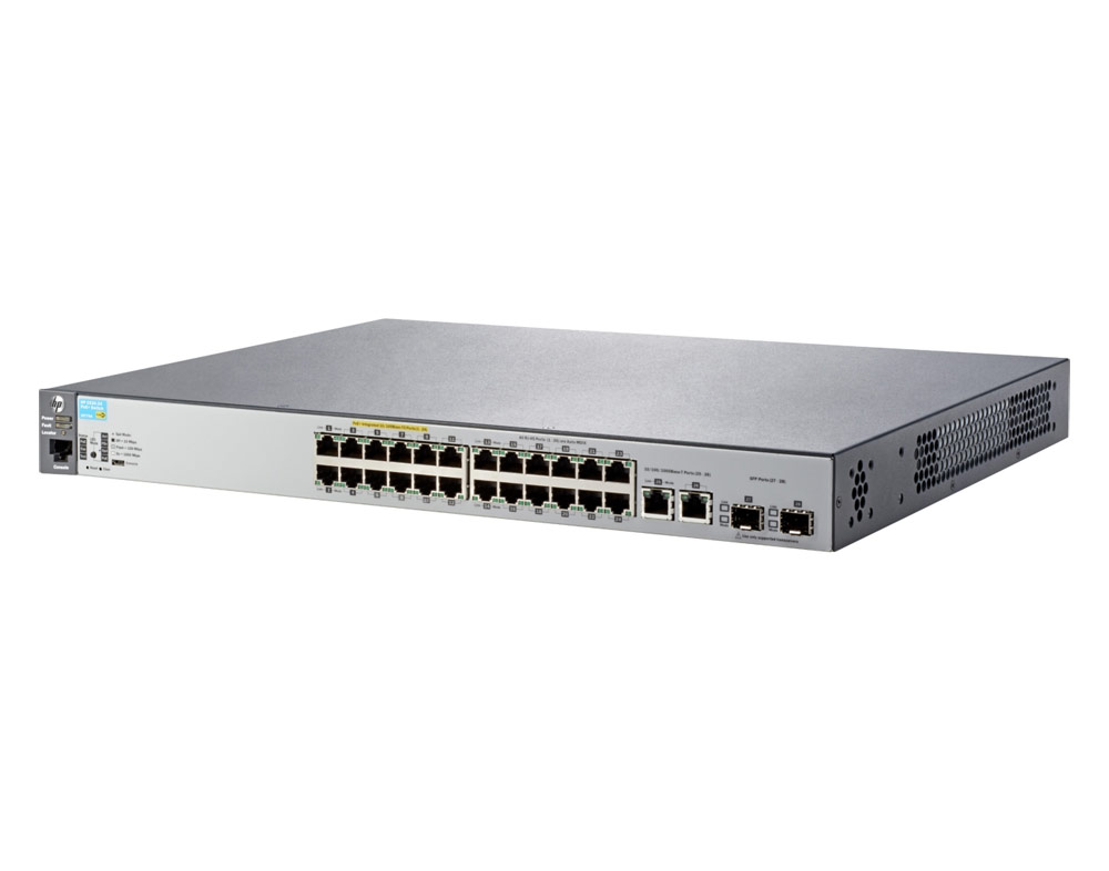Switch HP 2530-24-PoE+ Switch, 24 x RJ45 10/100/1000 + 4xRj45 SFP, J9773A J9779A