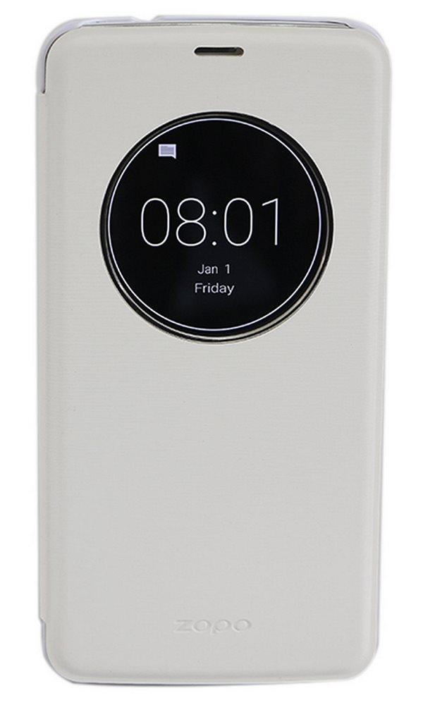 Pouzdro pro ZOPO ZP951 Speed 7 bílé Pouzdro, pro mobilní telefon Zopo ZP951 Speed 7, flipové, S-view, bílé ZOPOFLIP951WH