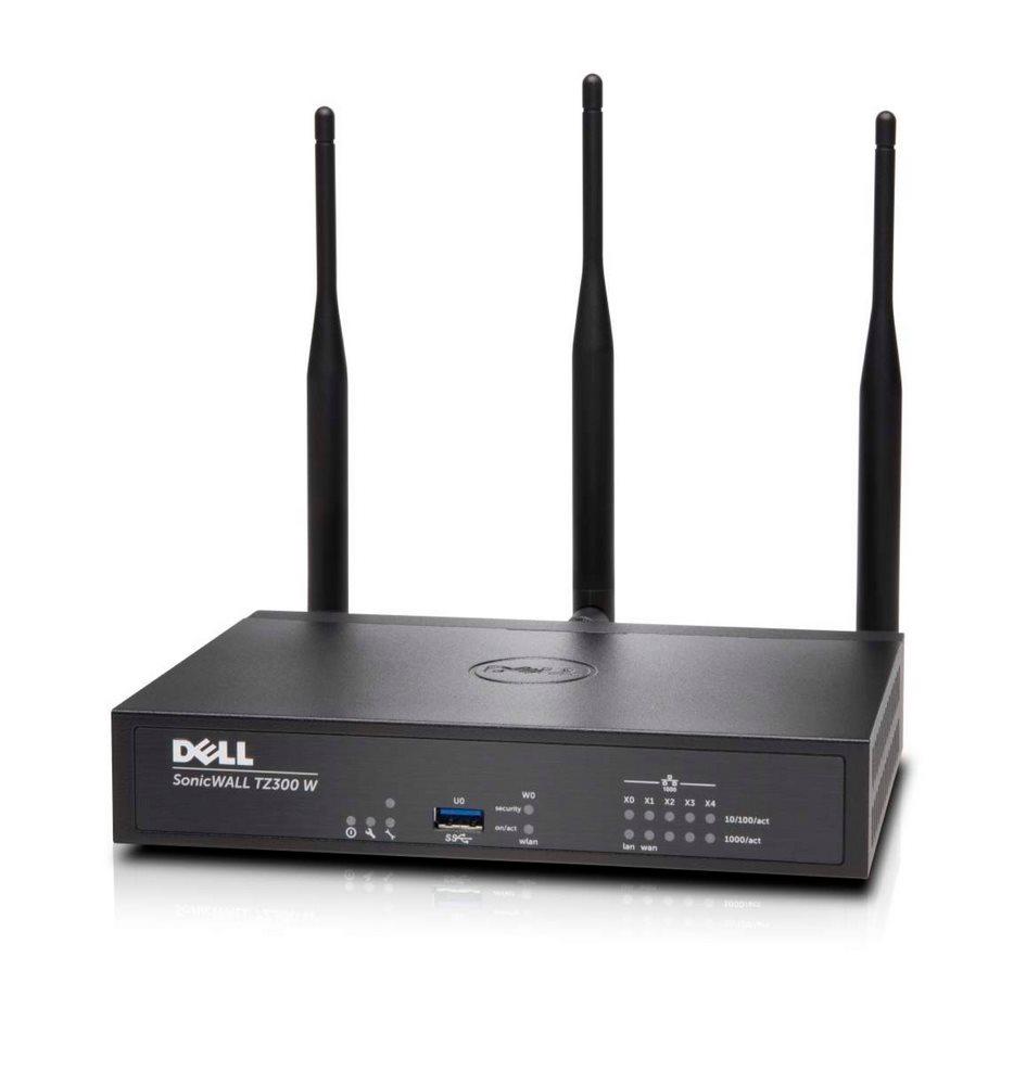 Firewall DELL SonicWall TZ300 Wireless-AC Int Firewall, Dual Core 0.8GHz, 5 x RJ45, VPN, podpora na 1 rok 01-SSC-0574