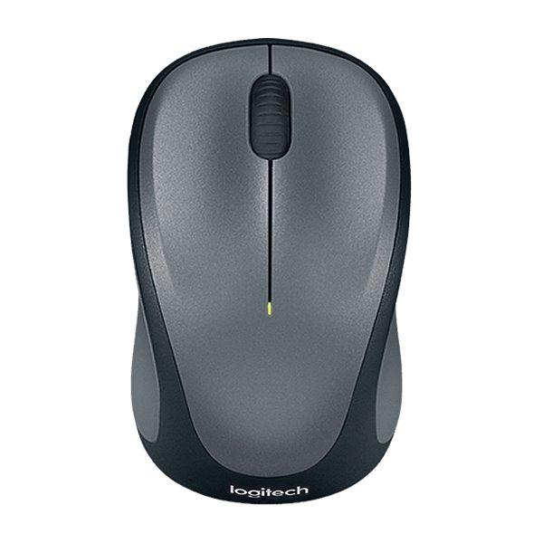 Myš LOGITECH M235 Myš, optická, bezdrátová, USB, Unifying přijímač, tmavě šedá 910-002201