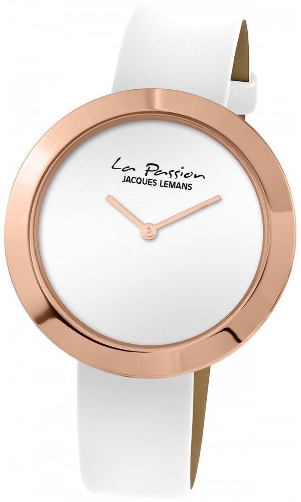 Analogové hodinky Jacques Lemans La Passion LP-113 Analogové hodinky, módní, dámské, vodotěsné, kožený řemínek LP-113C
