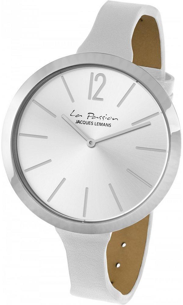 Analogové hodinky Jacques Lemans La Passion LP-115 Analogové hodinky, módní, dámské, vodotěsné, kožený řemínek LP-115B