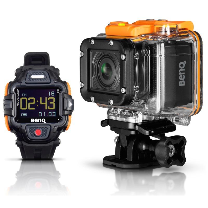 Kamera BenQ QC1 Kamera, outdoorová, LTE, 13MPix CMOS, FULL HD, černá, hodinky v balení