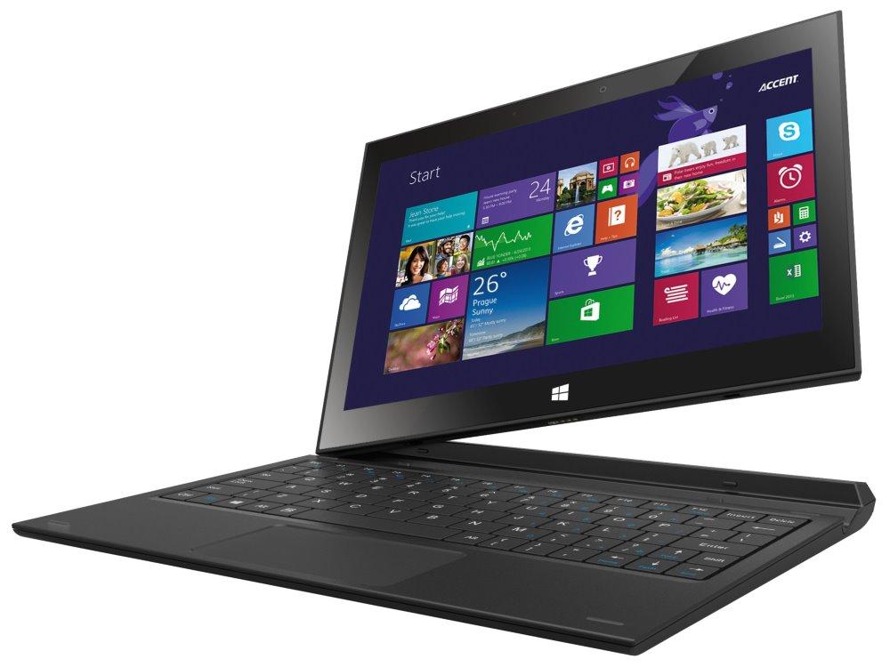 Tablet Accent TB 880 Tablet 2 v 1, Quad Core, 1GB RAM, 16GB, 8,9 IPS, Windows 8.1 + Office 365, Wi-Fi, CZ klávesnice - ROZBALENÉ TABACC1007V