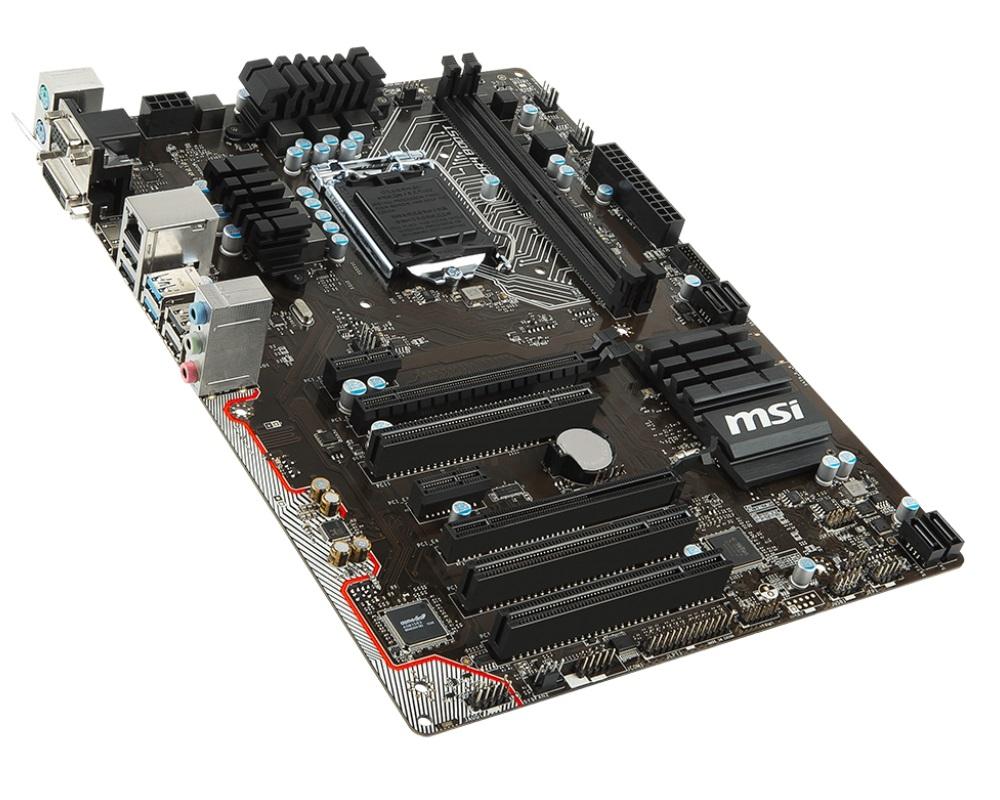 Základní deska MSI H110 PC MATE Základní deska, Intel H110, LGA1151, DDR4, ATX H110 PC MATE
