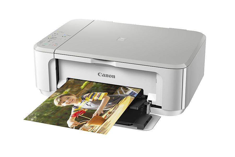 Multifunkční tiskárna Canon PIXMA MG3650 bílá Barevná multifunkční inkoustová tiskárna, A4, 4800x1200, Duplex, Wi-Fi, USB, bílá 0515C026