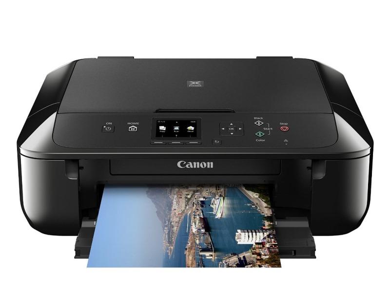 Multifunkční tiskárna Canon PIXMA MG5750 Barevná multifunkční inkoustová tiskárna, A4, 4800x1200, 3LCD, Duplex, Wi-Fi, USB, černá 0557C006