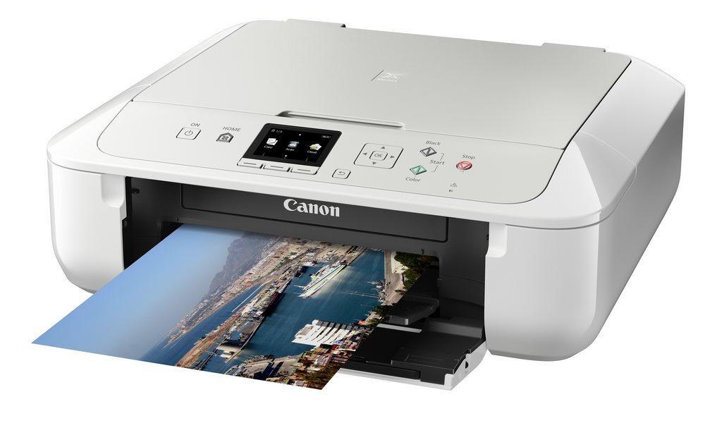 Multifunkční tiskárna Canon PIXMA MG5751 Barevná multifunkční inkoustová tiskárna, A4, 4800x1200, 3LCD, duplex, Wi-Fi, USB, bílá 0557C026