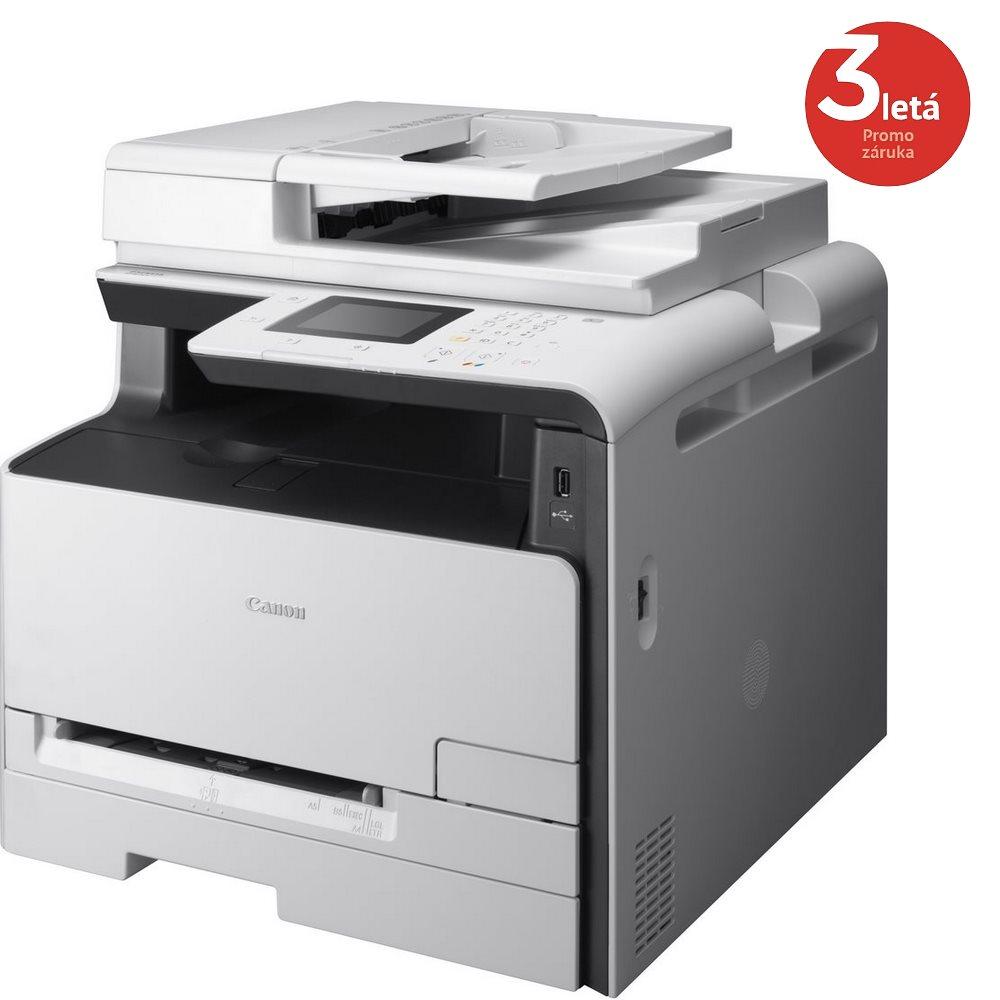 Multifunkční tiskárna Canon i-SENSYS MF623Cn Barevná multifunkční laserová tiskárna, A4, dotykový LCD, ADF, USB, Síť 9946B012