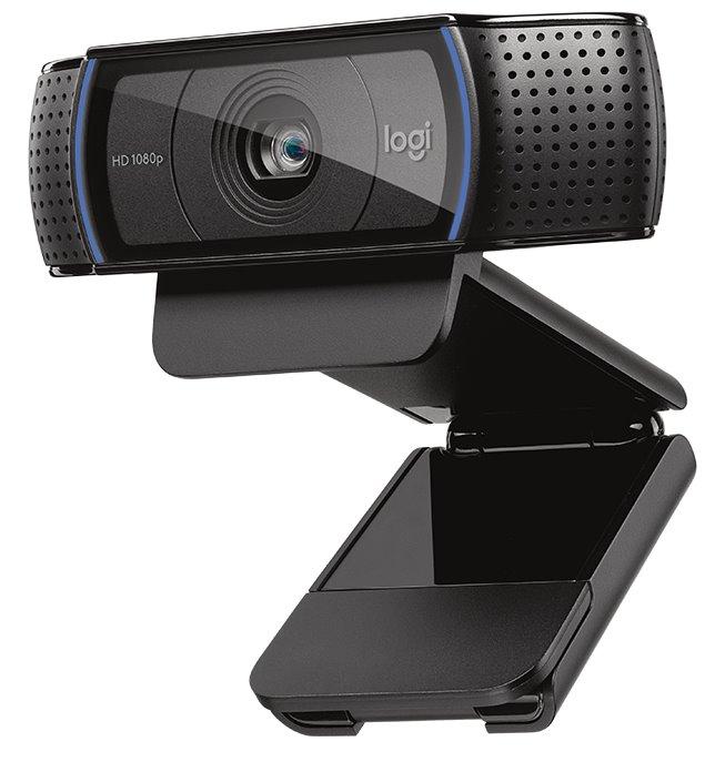 Webkamera Logitech C920 Webkamera, HD, 1920x1080, foto až 15MPx, USB, černá