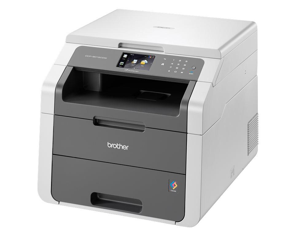 Multifunkční tiskárna BROTHER DCP-9015CDW Barevná multifunkční LED tiskárna, A4, 600x2400 dpi, print, copy, scan, USB, Wi-Fi DCP9015CDWYJ1