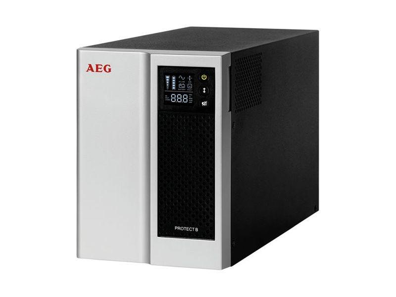 Záložní zdroj AEG UPS Protect B. 1000 2015 Záložní zdroj, 1000 VA, 700 W, line-interactive UPS 6000016602