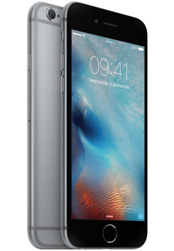 Mobilní telefon Apple iPhone 6s 128GB šedý Mobilní telefon, dotykový, 4,7, 128GB, iOS 9, šedý MKQT2CN/A