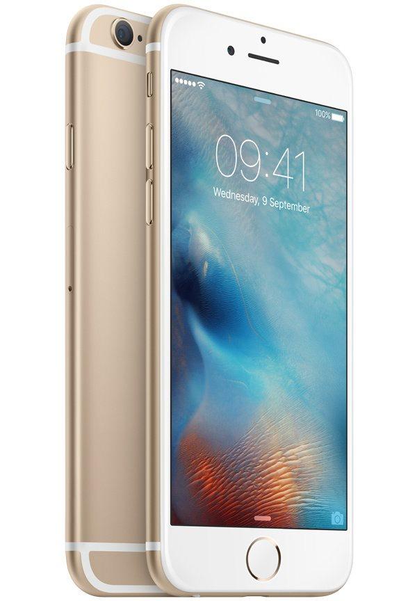 Mobilní telefon Apple iPhone 6s 128GB zlatý Mobilní telefon, dotykový, 4,7, 128GB, iOS 9, zlatý MKQV2CN/A
