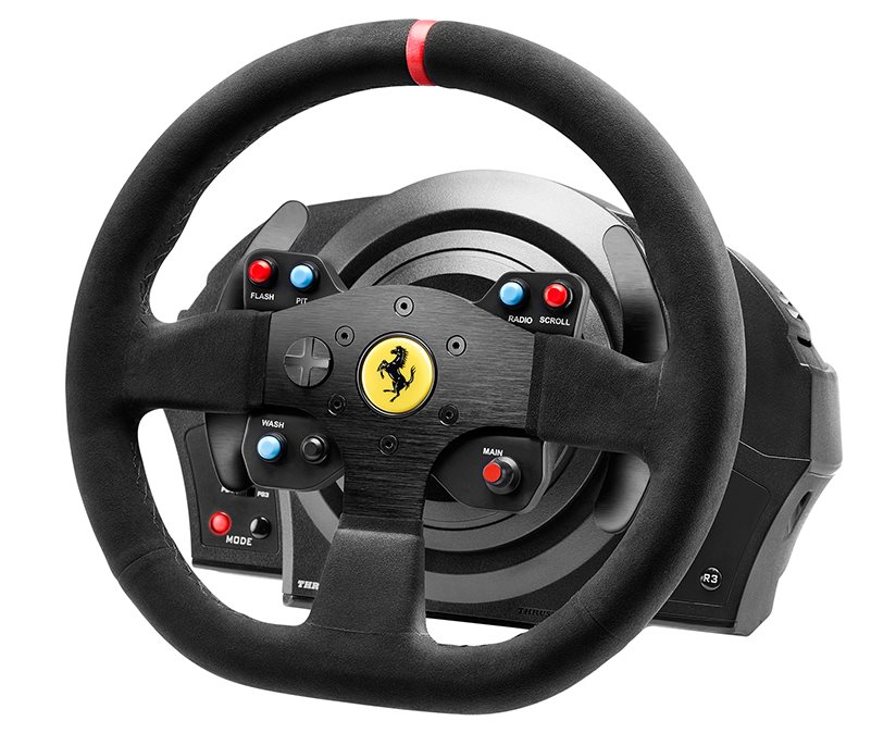 Volant THRUSTMASTER T300 Ferrari Volant, pedály, pro PS3, PS4, PC 4160652