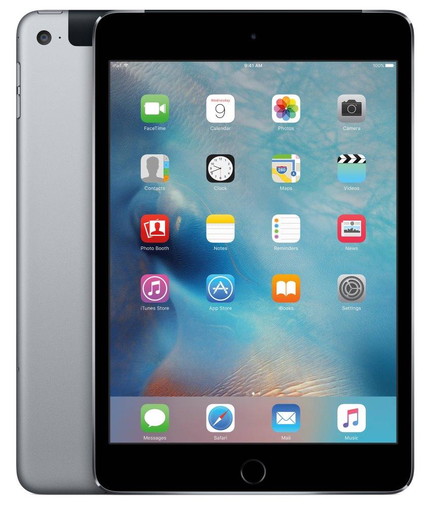 Tablet Apple iPad mini 4 Tablet, Wi-Fi, 128 GB, šedá MK762FD/A