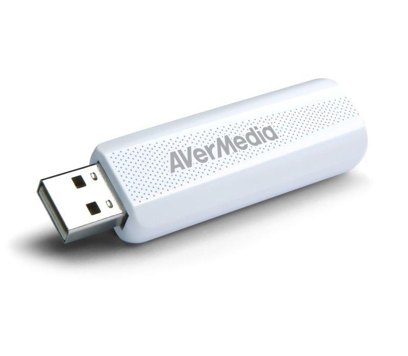 TV tuner AVERMEDIA AVerTV TD310 TV tuner, Externí, USB, DVB-T, DVB-T2 61TD3100A0AC