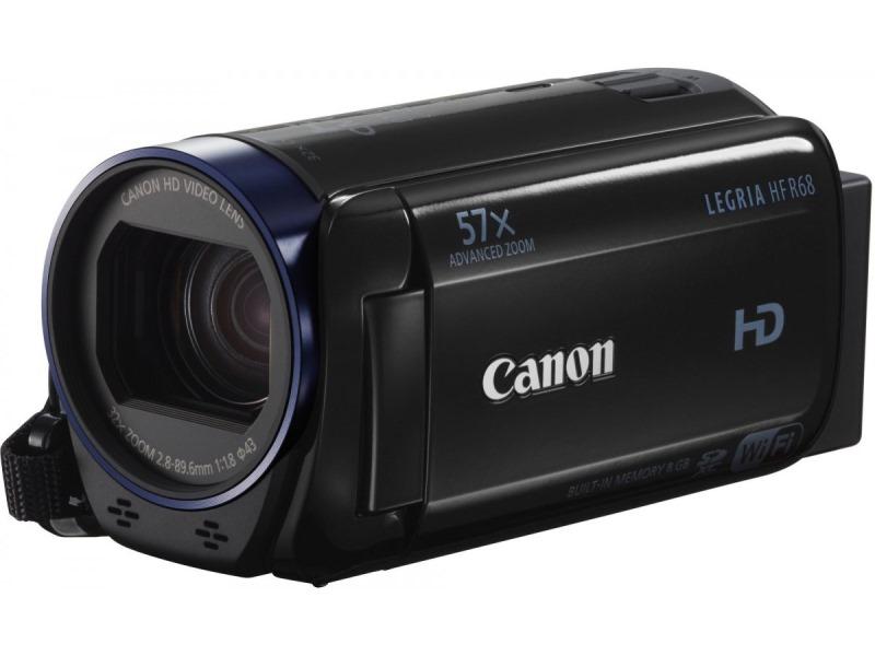 Videokamera Canon LEGRIA HF R68 Videokamera, Full HD, 32x optický zoom, Wi-Fi 0279C010AA