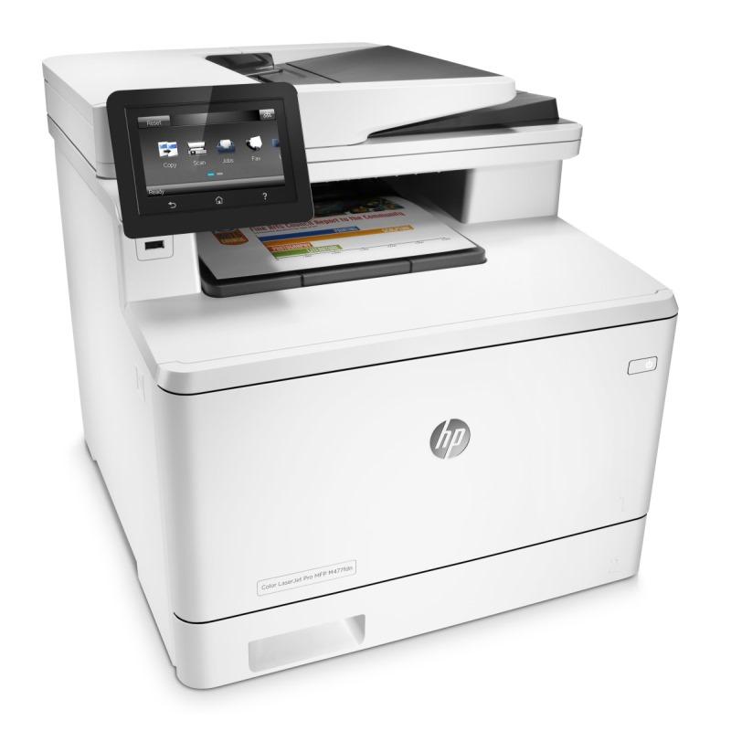 HP Color LaserJet Pro MFP M477fdn/ A4/ 27ppm/ print+scan+copy+fax/ Duplex/ USB/ LAN