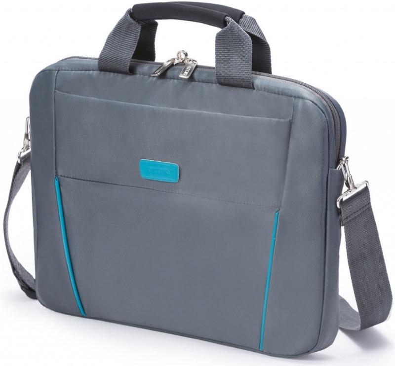 Brašna DICOTA Slim Case BASE 14-15,6 šedá Brašna, pro notebook, 14-15,6, šedo-modrá D30998