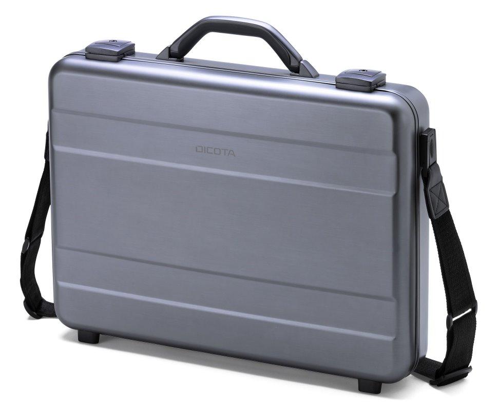 Brašna DICOTA Alu Briefcase 15-17,3 Brašna, pro notebook, kufr 15-17,3, šedá-hliník D30589