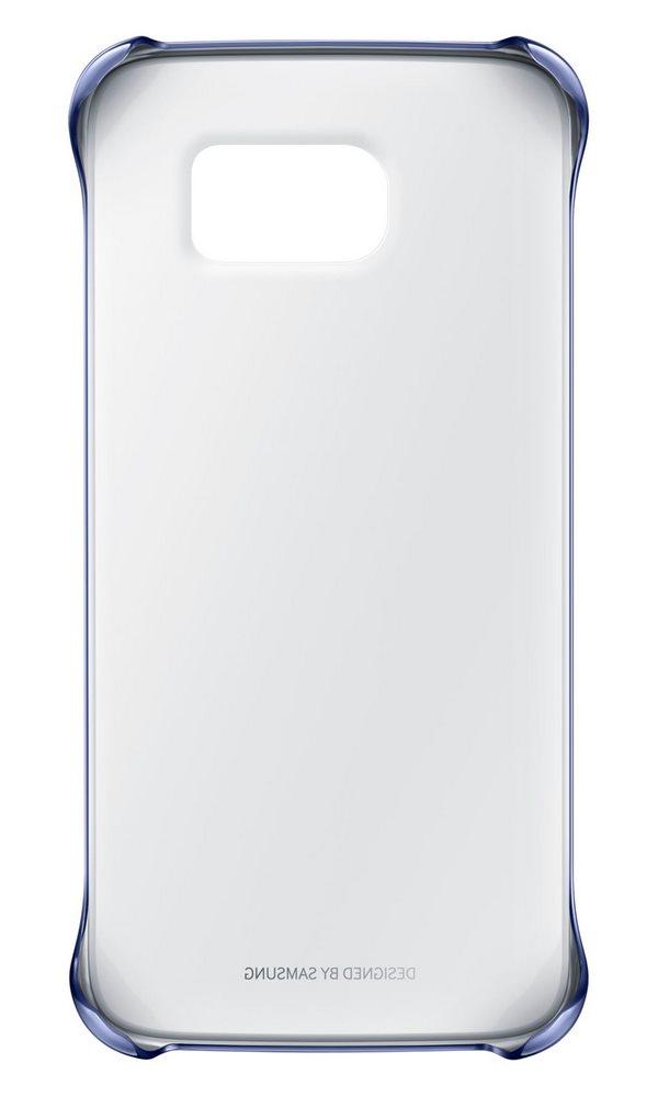 Obal Samsung Clear Cover EF-QG920B černý Obal, pro Samsung Galaxy S6 SM-G920F, černý EF-QG920BBEGWW