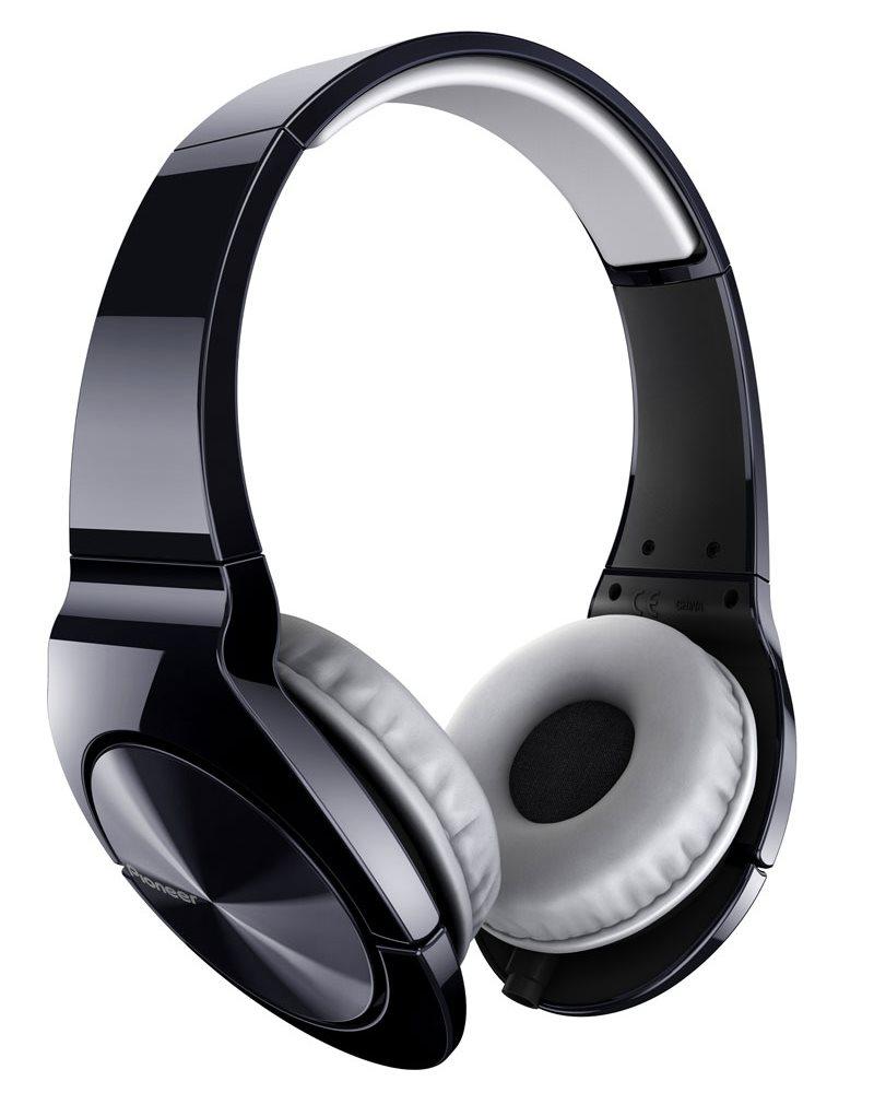 Sluchátka PIONEER SE-MJ751 Sluchátka, náhlavní, uzavřená, 8Hz-28kHz, 16ohm, 1000mW, 104dB, 156g, měnič 40mm, kabel 1.2m, černá SE-MJ751