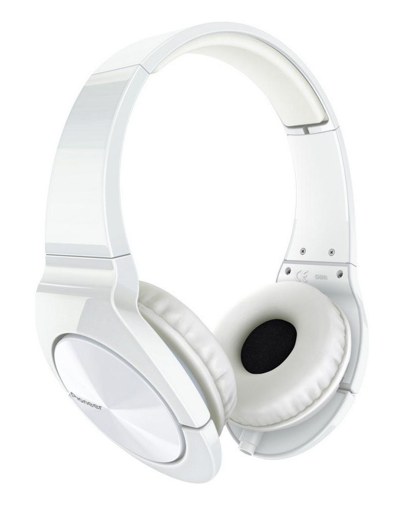 Sluchátka PIONEER SE-MJ751-W Sluchátka, náhlavní, uzavřená, 8Hz-28kHz, 16ohm, 1000mW, 104dB, 156g, měnič 40mm, kabel 1.2m, bílá SE-MJ751-W