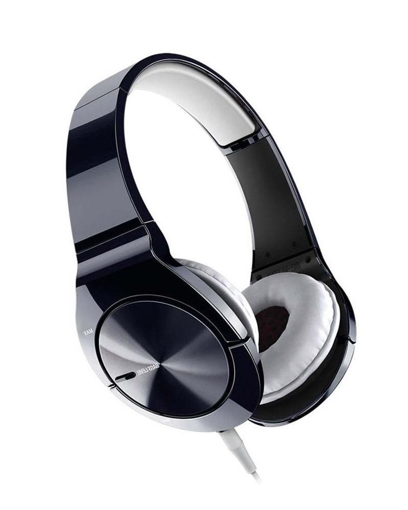 Sluchátka PIONEER SE-MJ751I Sluchátka, náhlavní, uzavřená, mikrofon, 8Hz-28kHz, 16ohm, 1000mW, 104dB, 156g, měnič 40mm, kabel 1.2m, černobílá SE-MJ751I