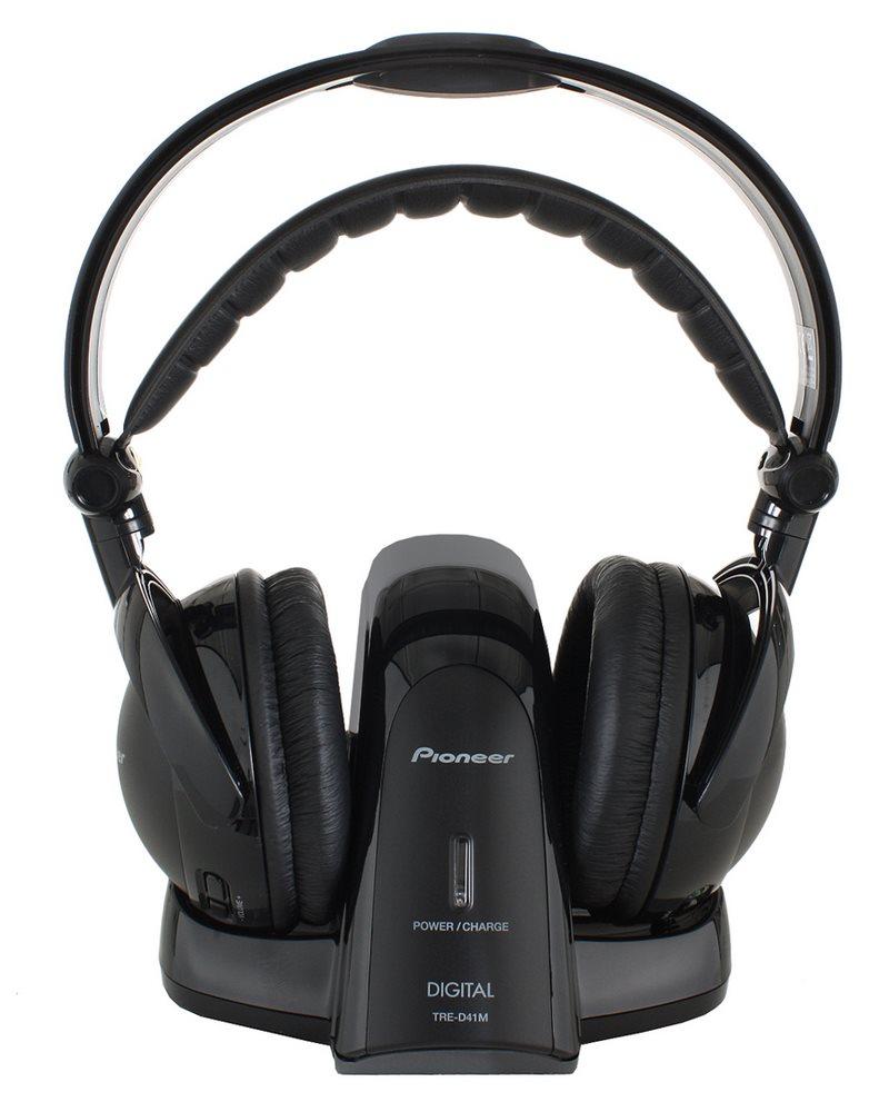 Sluchátka PIONEER SE-DRF41M Sluchátka, náhlavní, uzavřená, bezdrátová, 15Hz-22kHz, 178g, měnič 40mm, dosah 30m, černá SE-DRF41M