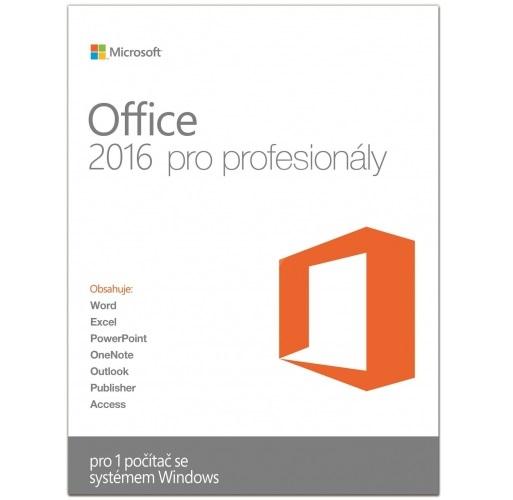 Kancelářský software MS Office Pro 2016 Kancelářský software, ESD Win All Lng 269-16805