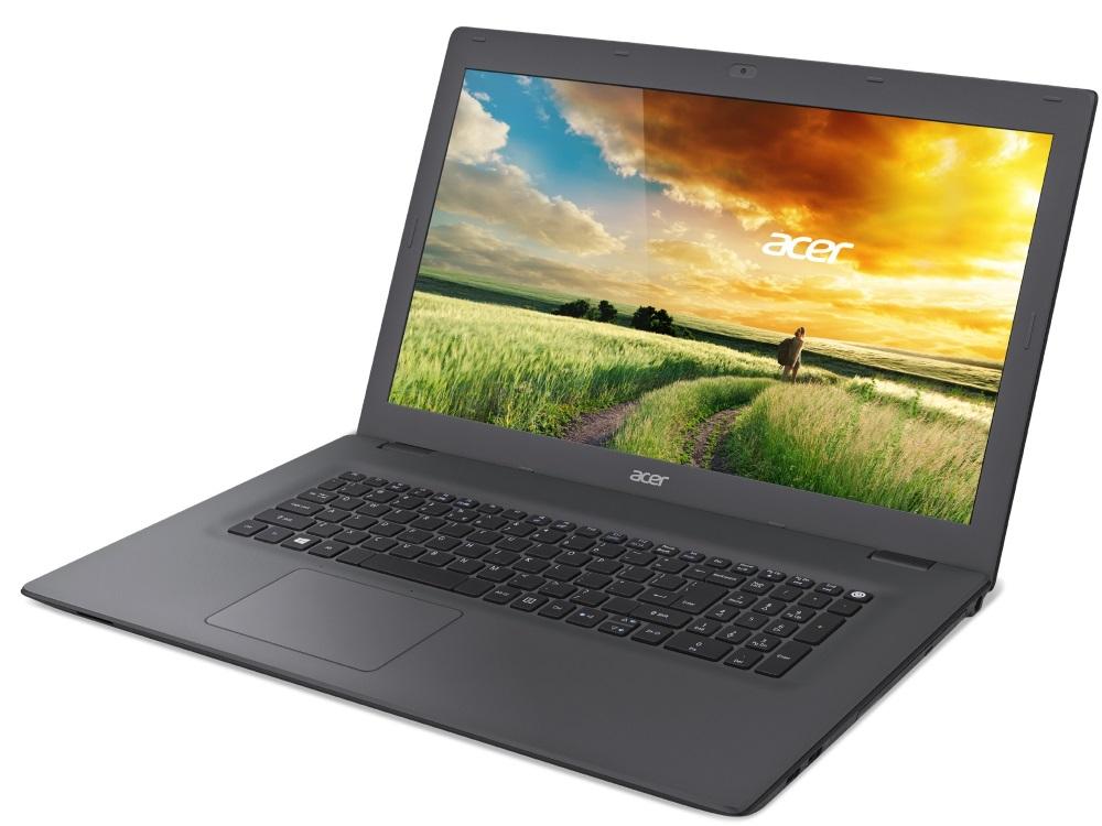 Notebook Acer Aspire E 17 Notebook, AMD A10-8700P, 8 GB, 1 TB, DVDRW, Radeon R7 M360 2 GB, 17.3 FHD matný, BT, W10 Home, šedý NX.MYMEC.002