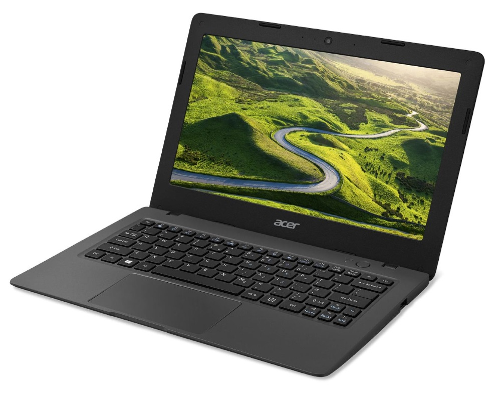 Notebook Aspire One Cloudbook 11 Notebook, Celeron N3050, 2 GB, eMMC 32 GB, HD Graphics, 11.6 HD matný, BT, W10 Home, černý NX.SHFEC.001