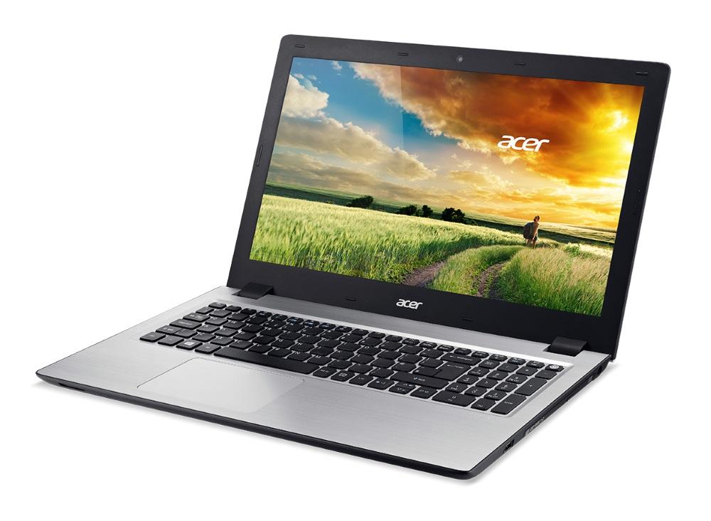 Notebook Acer Aspire V 15 Notebook, i7-5500U, 8 GB, 8 GB SSD + 1 TB HDD, DVDRW, GeForce 940M 4 GB, 15.6 FHD matný, BT, W10 Home, černý NX.G1UEC.002