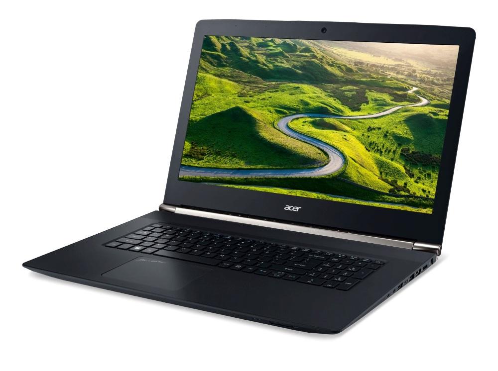 Notebook Acer Aspire V17 Nitro Black Edition Notebook, i7-6700HQ, 8 GB, 128 GB SSD + 1 TB, DVDRW, GTX 960M, 17.3FHD matný, BT, W10, černý NX.G6TEC.001