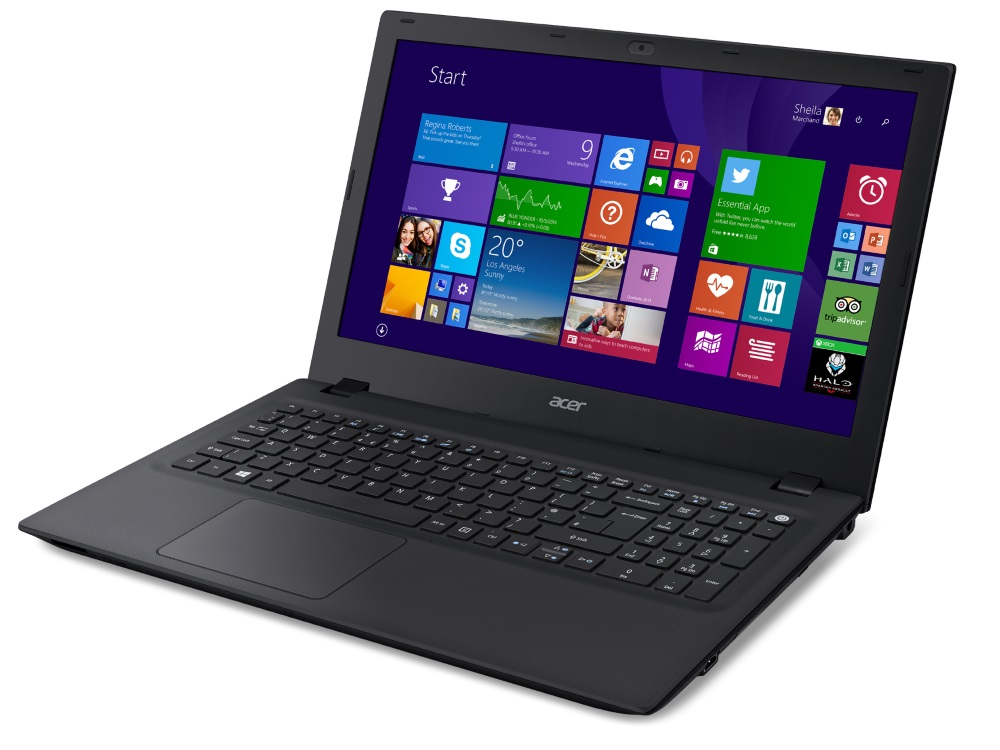 Notebook Acer TravelMate P257-M Notebook, i5-5200U, 4GB, 500 GB 7200ot, DVDRW, HD Graphics, 15.6 HD matný, BT, W7 Pro+W10 Pro, černý NX.VBKEC.007