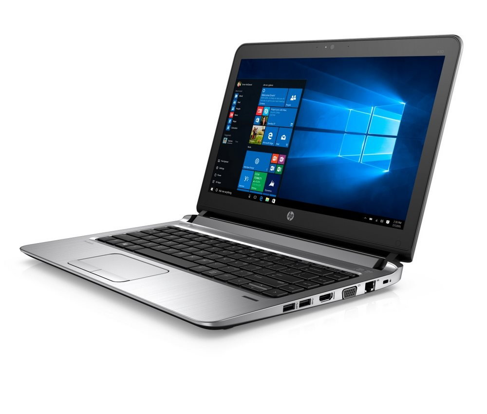 Notebook HP ProBook 430 G3 Notebook, 13.3 1366 x 768, i3-6100U, 4GB, 256GB M.2 SSD + volný 2.5 slot, BT, Win10 Pro downgraded W7 T6P17ESBCM