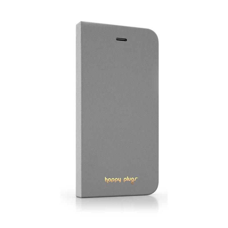 Pouzdro Happy Plugs iPhone 6 Flip šedé Pouzdro, pro mobilní telefon iPhone 6 Flip, šedá 8856