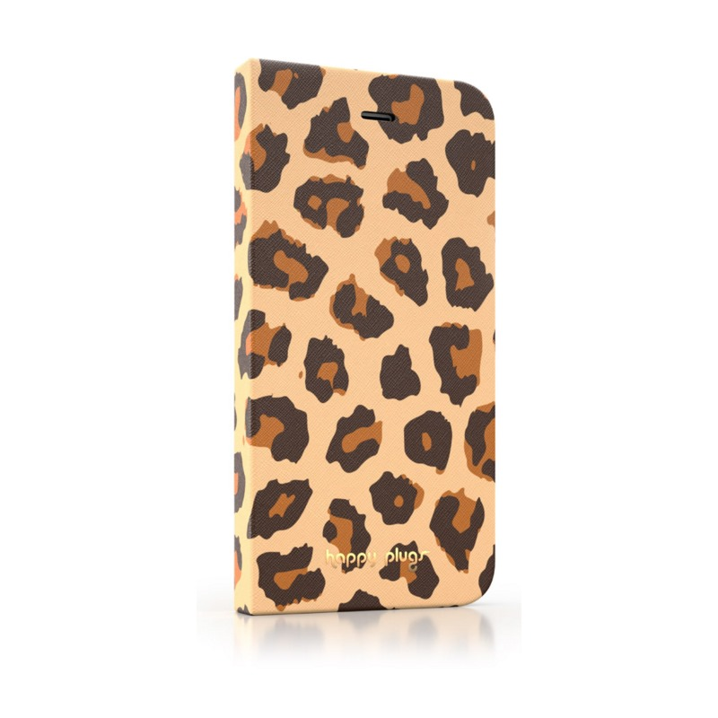 Pouzdro Happy Plugs iPhone 6 Flip Leopard Pouzdro, pro mobilní telefon iPhone 6 Flip, Leopard 8858