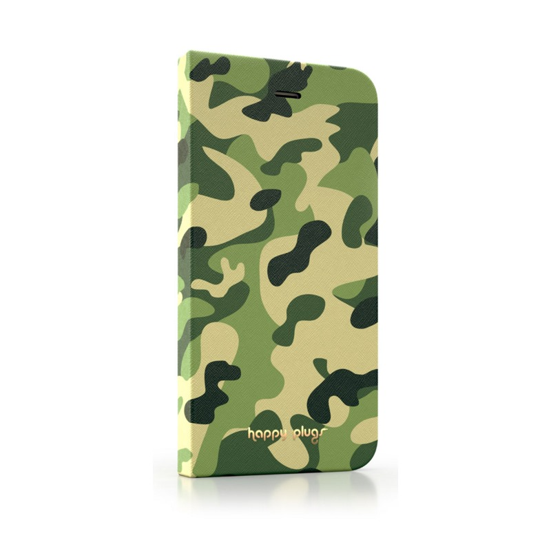 Pouzdro Happy Plugs iPhone 6 Flip Camouflage Pouzdro, pro mobilní telefon iPhone 6 Flip, Camouflage 8859