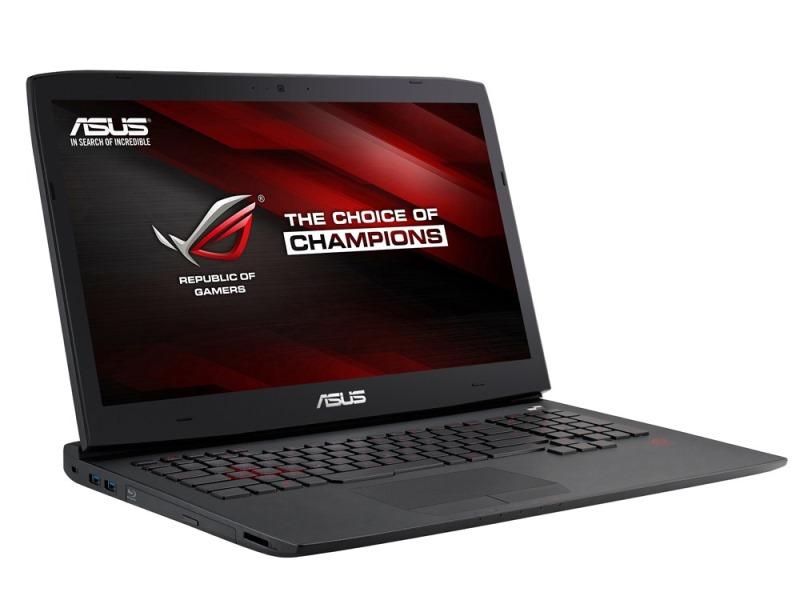 Notebook ASUS ROG G751JY-T7351T Notebook, i7-4750HQ, 16GB, 1TB+256GB SSD, 17,3 FHD, DVD-BR, GTX980M 4G, BT, HDMI, W10, černý G751JY-T7351T
