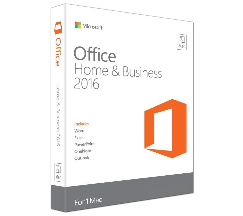 Kancelářský software MS Office pro podnikatele2016 Kancelářský software, Home amp Business, 2016, pro Mac, všechny jazyky eurozóny bez možnosti instalace češtiny - elektronická licence W6F-00627