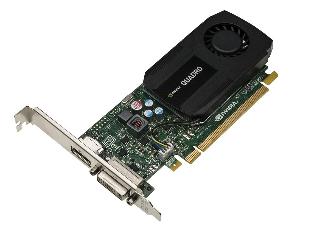 Grafická karta HP NVIDIA Quadro K420 2GB Grafická karta, 2GB DDR3, PCI-E, 1x DVI, 1x DP N1T07AA