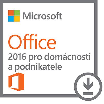 Kancelářský software MS Office pro podnikatele2016 Kancelářský software, Home amp Business, 2016, pouze pro hardware DELL 630-ABDD